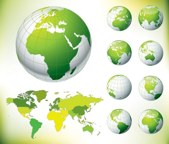 Free globe and world map green psd files vectors graphics free globe and world map green psd files vectors graphics 365psd gumiabroncs Gallery