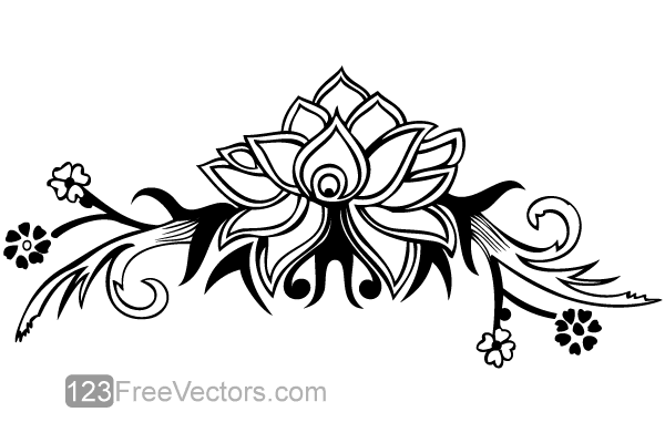 20 Creative And Clever Logos With Negative Space furthermore Designing Scroll Saw Patterns Fonts likewise Free Dxf Files Animal Shapes as well Hand Drawn Flower Design Vector 30528 together with 3. on designing for wildlife