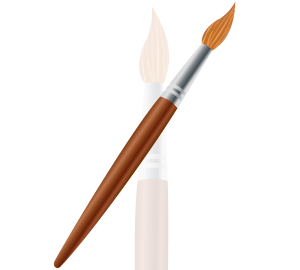 free paint brush, vector file - 365psd