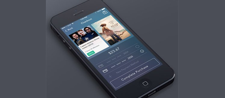 iOS7 eCommerce Checkout App
