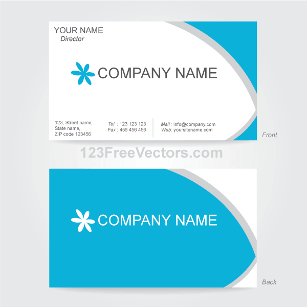 Free vector business card design template psd files vectors free vector business card design template psd files vectors graphics 365psd fbccfo Images