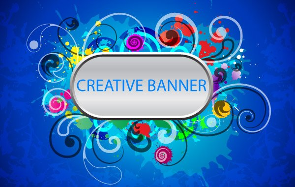 creative banner vector free file download now creative banner vector free file