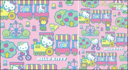 Hello kitty official Vector 88
