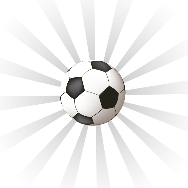 Free Sunburst Background with Soccer Ball PSD files, vectors ...