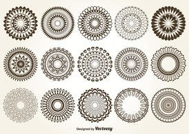 Decorative Vector Circles