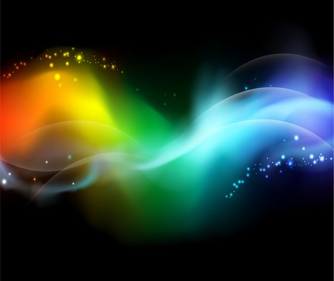 Creative Dynamic Colorful Design Abstract Background