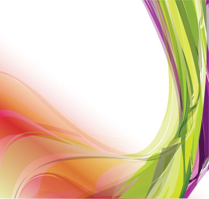 Abstract Colorful Wavy