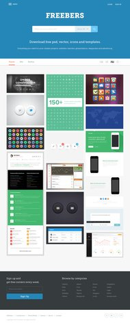 Freebers: Free Web Template