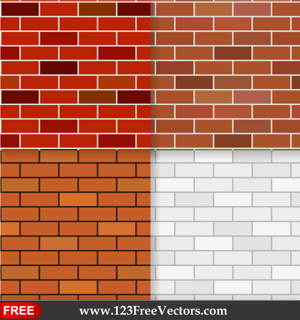 Free Brick Wall Texture Seamless Pattern Background PSD Files Vectors Graphics