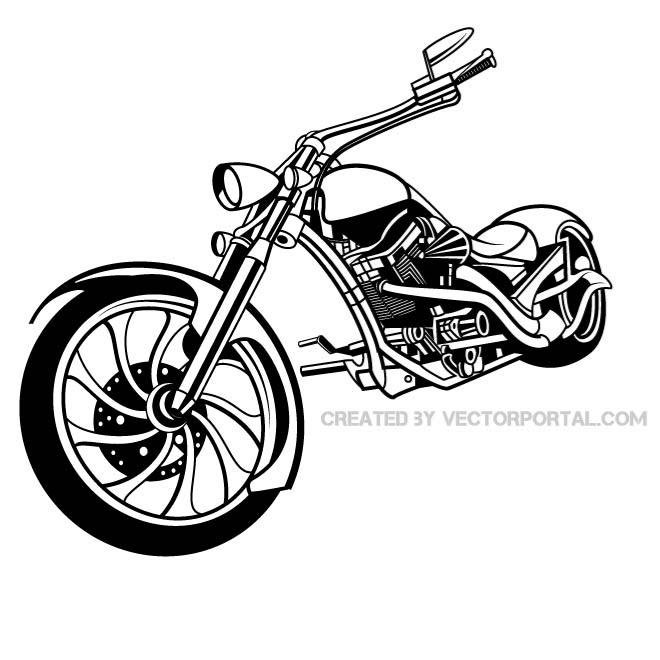 free motorcycle vector illustration eps psd files vectors rh 365psd com motorcycle vector png motorcycle vector file