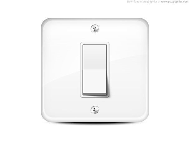 Light Switch Icon Vector Image
