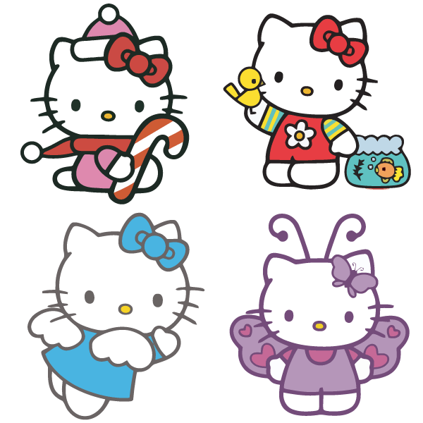 Hello Kitty Vector Free