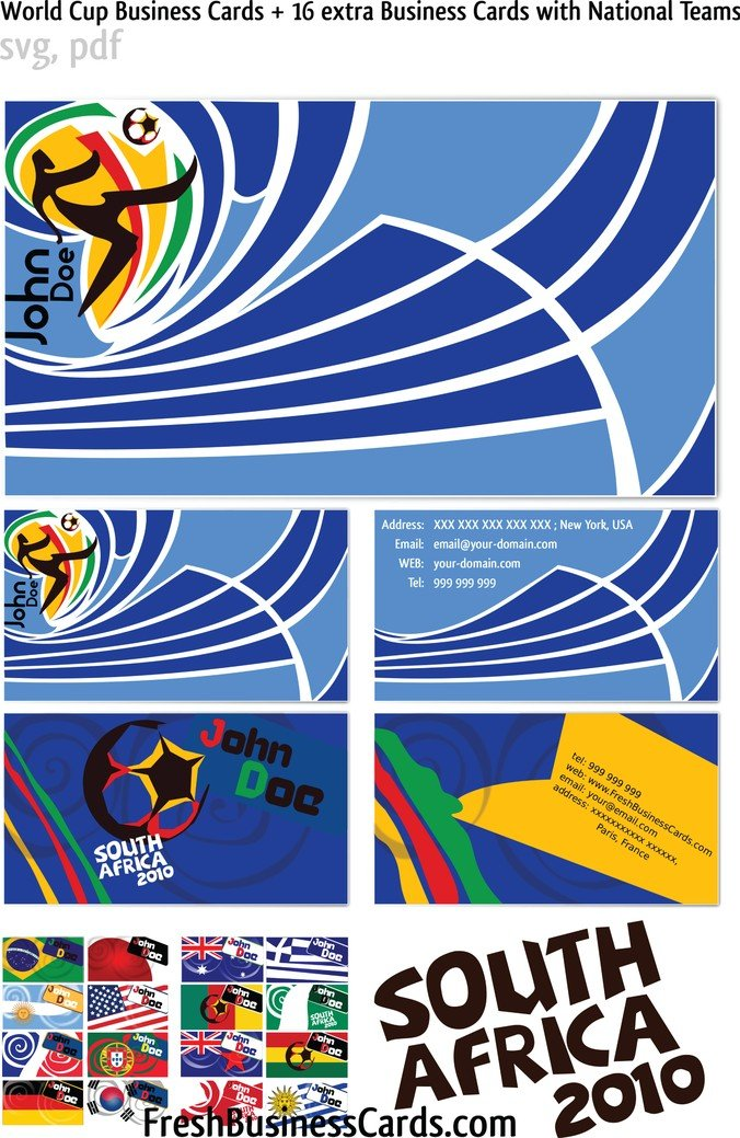 Free world cup vector business cards psd files vectors graphics free world cup vector business cards psd files vectors graphics 365psd reheart Images