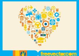 Vector Icons Heart