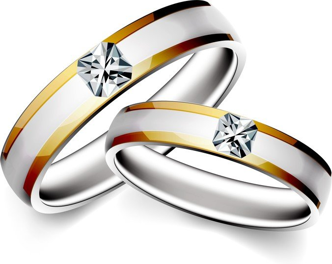 Precious Wedding Ring 04, vector graphics - 365PSD.com