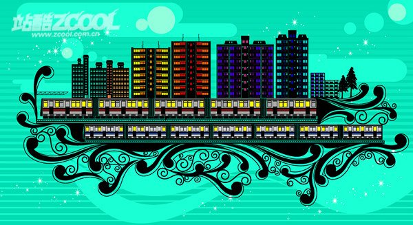 Pattern high-rise residential building series