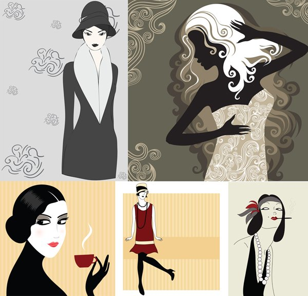 5 Woman Stock Vector Illustrations