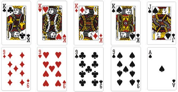 playing card vector template vector file. Black Bedroom Furniture Sets. Home Design Ideas