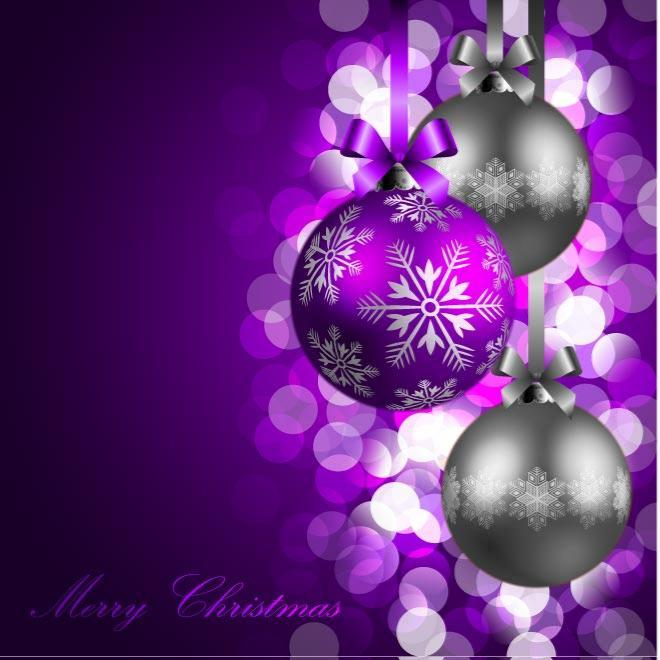 free purple christmas background vector eps psd files vectors