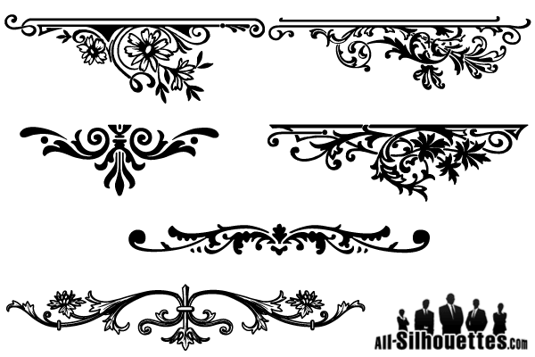 Decorative Ornaments for logo, web and graphic design - Download ...