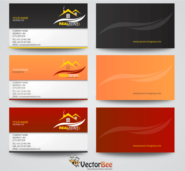 Free real estate business card designs psd files vectors graphics free real estate business card designs psd files vectors graphics 365psd reheart Choice Image