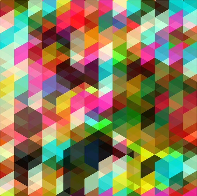Colored Abstract Vector Art