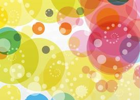 Colorful Circles Background