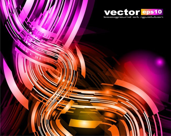 Colorful Dynamic Graphics
