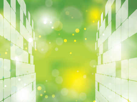 abstract green world background