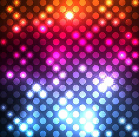 Abstract Light Dots Background