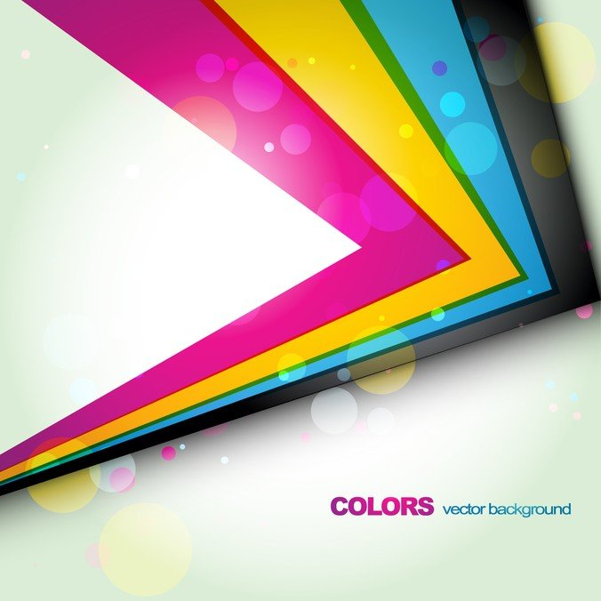 Vector Colourful Edge
