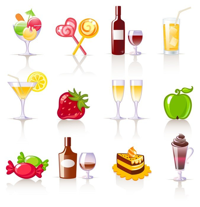 Sweet Drinks and Fruit