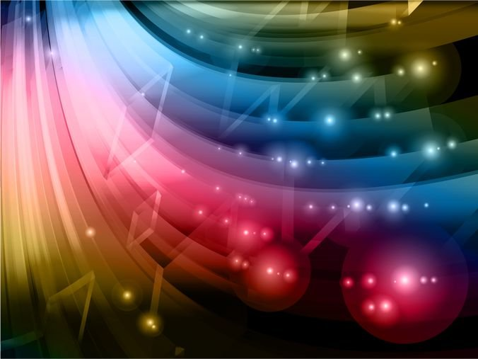 Abstract Colorful Vector Background Graphic
