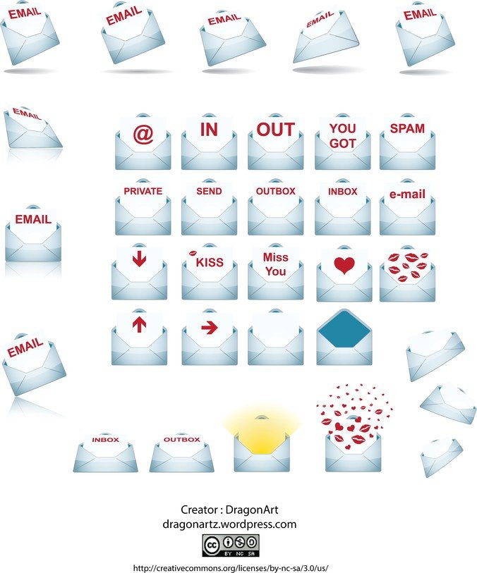 Various States Of The Envelope