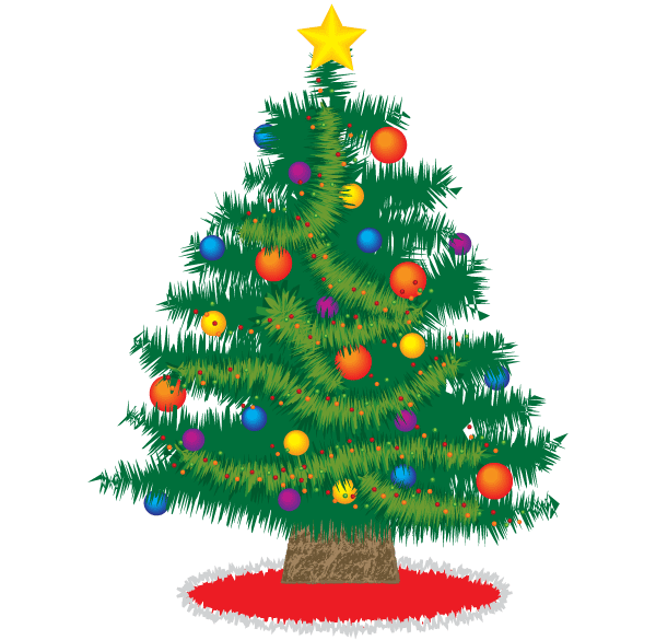 Christmas Tree Pictures Free Download vector graphic  365PSDcom