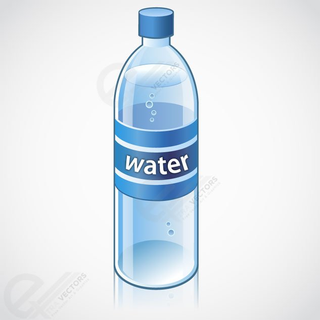 Water Bottle Graphic