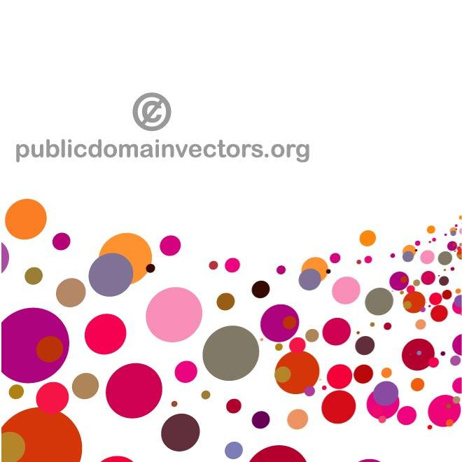 COLORFUL CIRCLES VECTOR GRAPHICS.eps