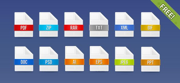 Free 12 Free PSD File Icons PSD files, vectors & graphics
