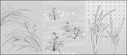 Flowers in Grass Drawing Report Browse Flowers