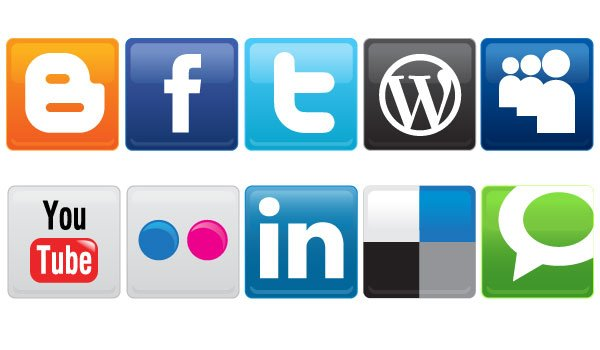 Vector Social Media Icons Free Download, free vectors - 365PSD.com