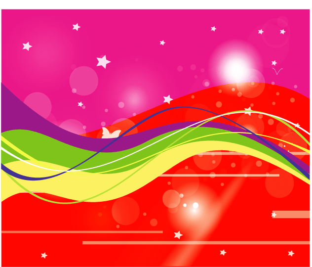 pink and red starsy abstract background