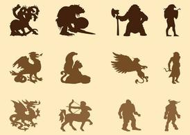 Mythological Creatures Graphics