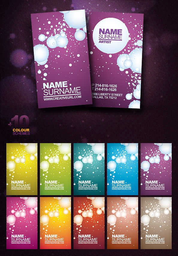 Free psd business card template free vectors 365psdcom for Psd business card template free