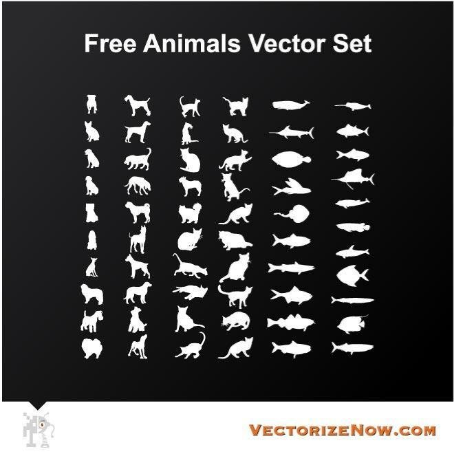 ANIMAL SILHOUETTES ICON PACK.eps
