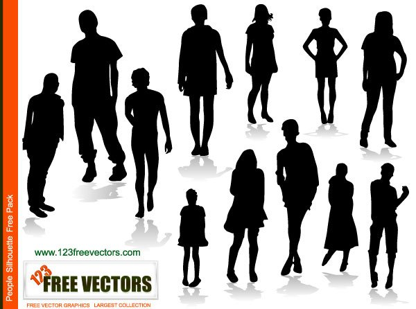 Report Browse > Human & People > People Silhouettes Free