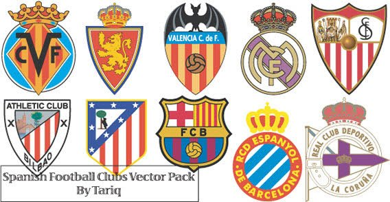 free spanish football club logos psd files vectors graphics. Black Bedroom Furniture Sets. Home Design Ideas