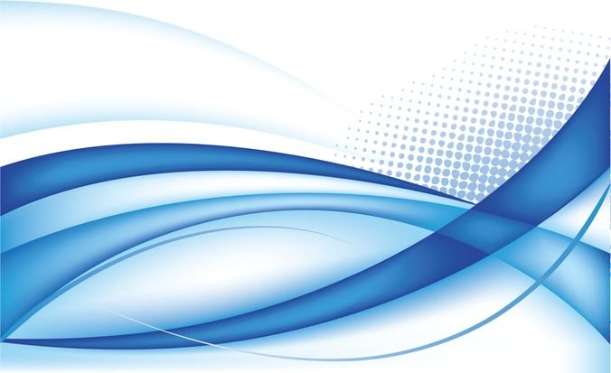 Abstract Blue Background Vector Graphic 4