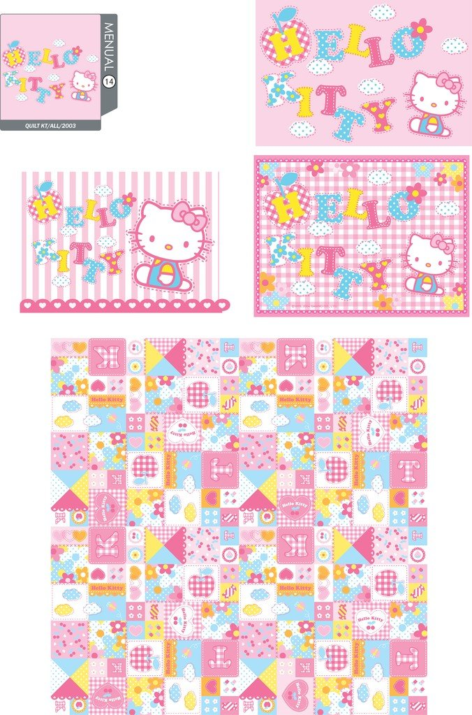 Hello Kitty Official Vector 14