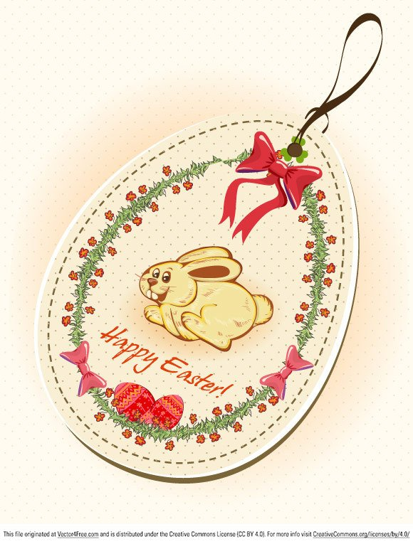 Easter Shopping Tag