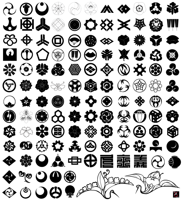 Free Japanese Traditional Elements Vector Set, vector file - 365PSD.com